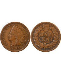 "USA - ONCE CENT ""Indian Head"" 1897"