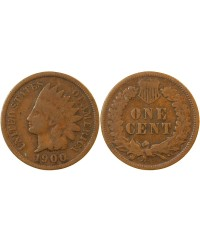 "USA - ONCE CENT ""Indian Head"" 1900"