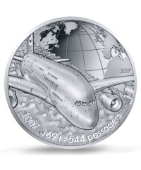 AIRBUS A380 - 10 Euros Argent BE 2017 FRANCE