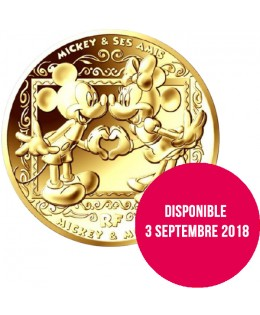 MICKEY ET SES AMIS - 200 Euros 1Oz Or BE 2018 FRANCE (MDP)