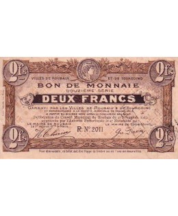 France 2 F Roubaix-Tourcoing - 17/11/1917