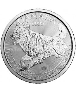 Le Loup - 1 Once Argent CANADA 2018