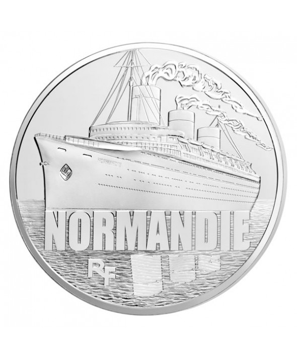 50 Euros Argent BE FRANCE 2014 - Normandie (Monnaie de Paris)