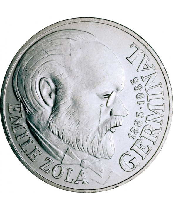 100 Francs Emile Zola / Germinal FRANCE 1985 (SUP)