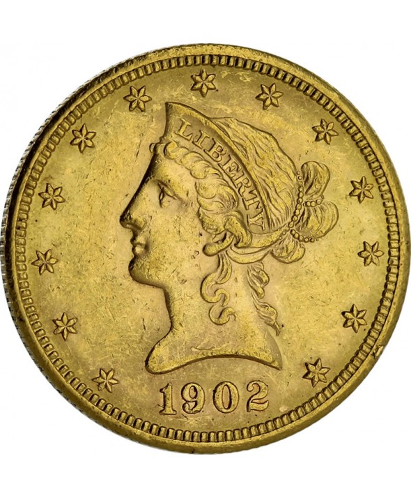10 Dollars Or USA 1866-1907 - Coronet Head
