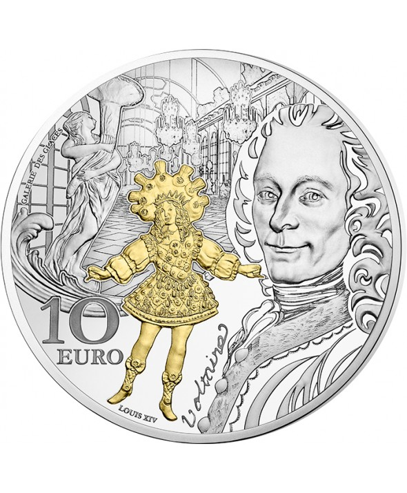 Baroque & Rococo - Europa Star 10 Euros Argent BE FRANCE 2018 (MDP)