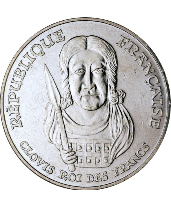 100 Francs Commémo. Clovis FRANCE 1996 (SUP)