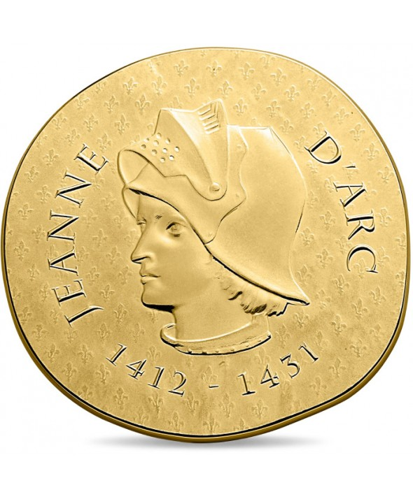 JEANNE D'ARC - 50 Euros Or BE FRANCE 2016 (MDP)