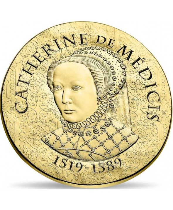 Catherine de Médicis - 50 Euros Or BE 2017 FRANCE (MDP)