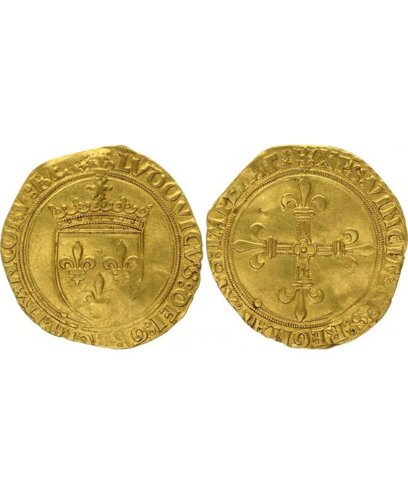 France Ecu d'Or au Soleil, Louis XII (1499-1514) - Paris