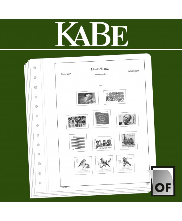 KABE Feuilles complémentaires OF Russie 2013