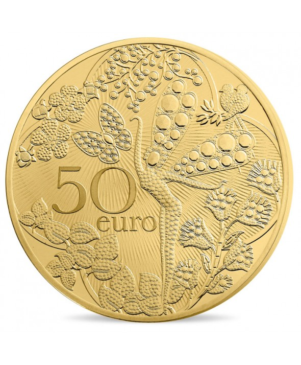 50 Euros OR BE FRANCE 2016 - Van Cleef & Arpels (MDP)