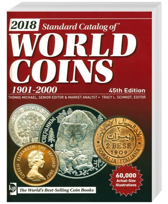 World Coins 1901 à 2000, 45ème Edition (2018)