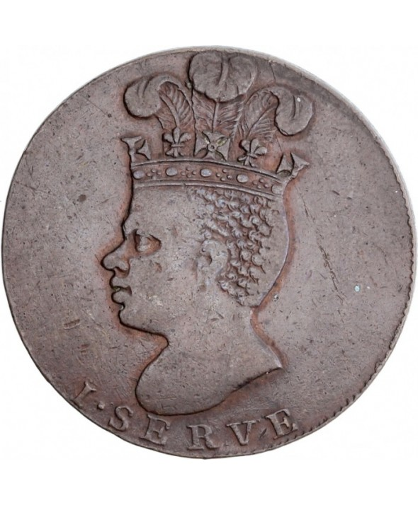 1 Penny, Indien - Ananas