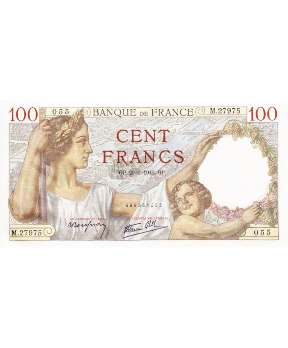 100 Francs, Sully - 1942