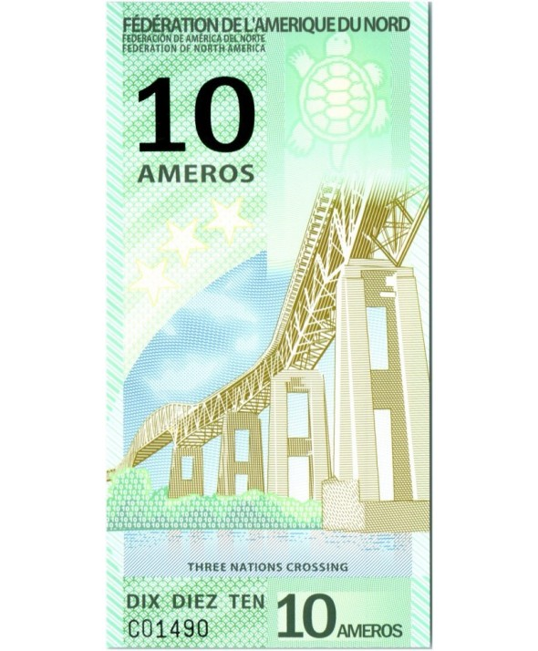 10 Ameros, Passage des 3 nations (pont) - 2011