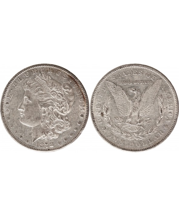 1 Dollar Morgan - Aigle 1878 S San Francisco - Argent