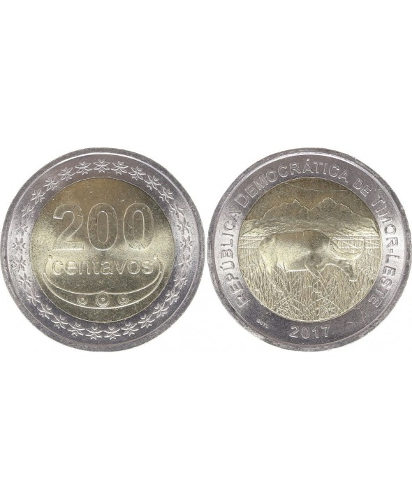 Timor 200 Centavos - 2017 - Republique democratique de Timor - Leste