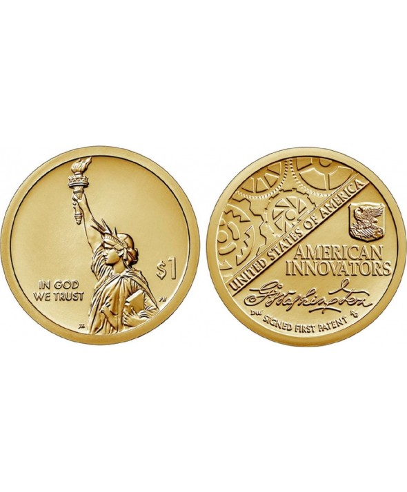 1 Dollar Statue de la Liberté - Innovation 2019 S San Francisco Proof