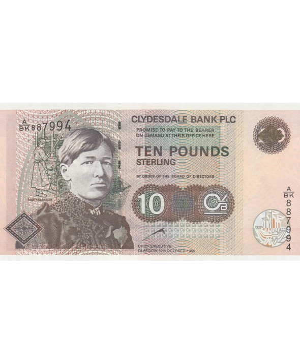 10 Pounds Mary Slessor - 1999