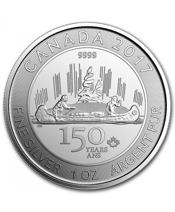 1 Once Argent Canada Voyageur 2017