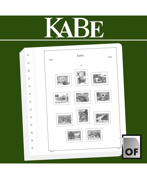 KABE feuilles complémentaires OF Italie 2017