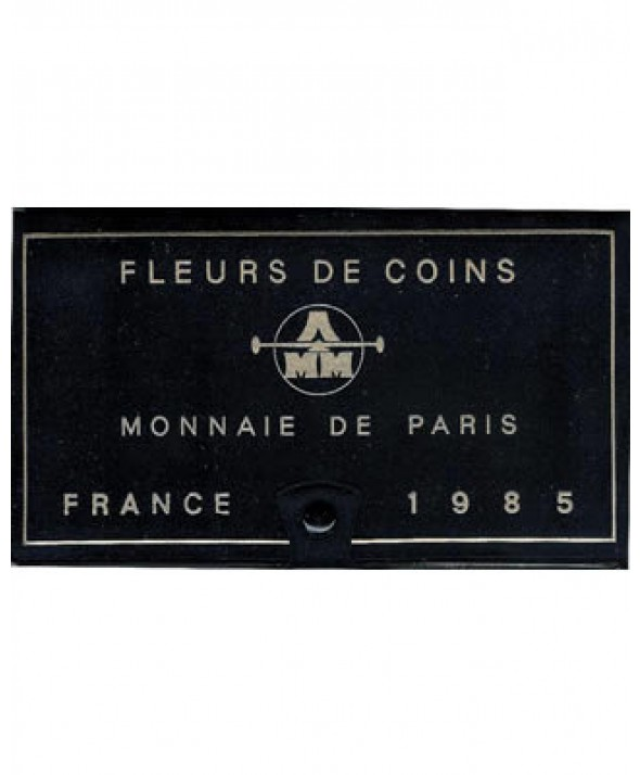 Coffret FDC Franc 1985 - France