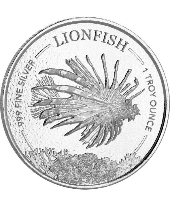 Lionfish 1 once argent Barbade 2019