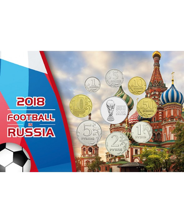 Blister Russie  Coupe du Monde Football FIFA 2018