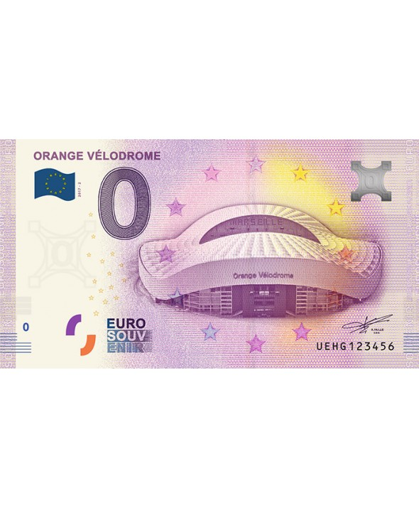 Billet 0 Euro Souvenir - Orange Vélodrome de Marseille 2017