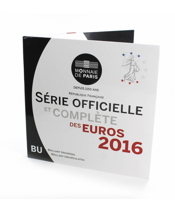 Coffret BU Euro FRANCE 2016 (MDP)