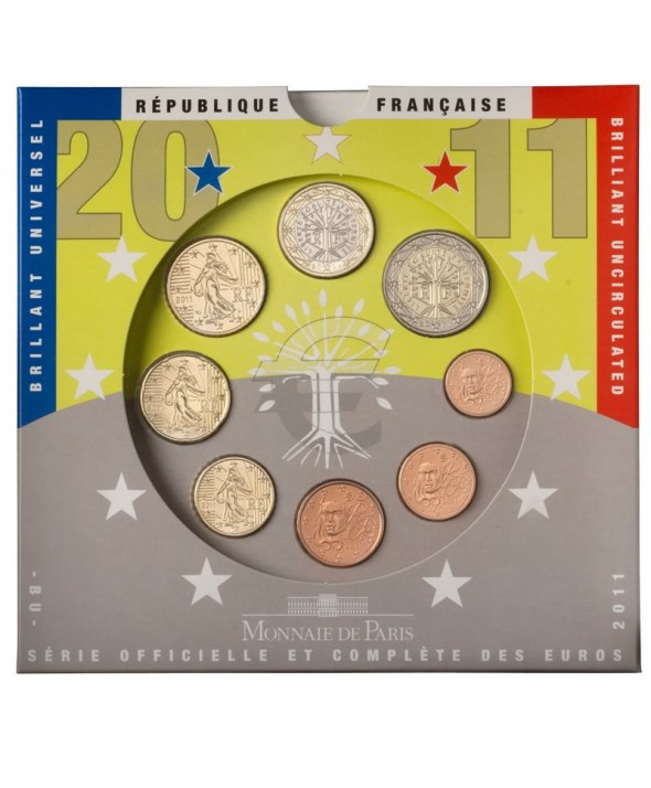 Coffret Brillant Universel France 2011