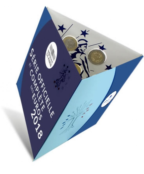 Coffret BU Euro France 2018 (MDP)
