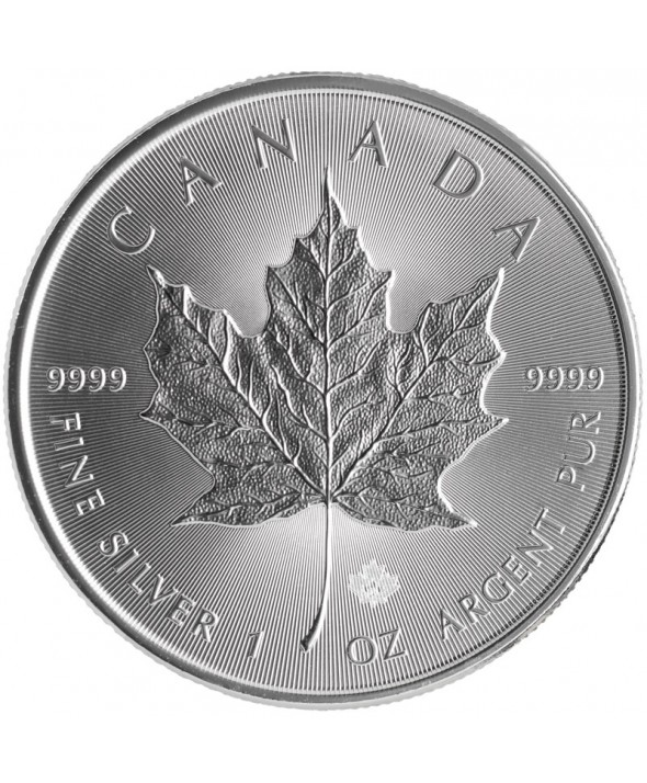 MAPLE LEAF - 1 Once Argent CANADA 2018
