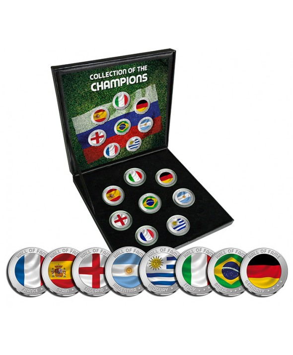 Coffret Les Champions Coupe du Monde Football