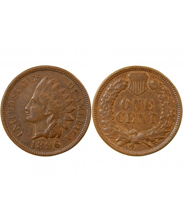"USA - ONCE CENT ""Indian Head"" 1896"