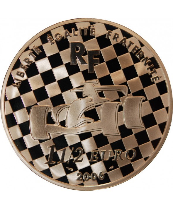 FRANCE, RENAULT F1 TEAM - 1,50 EURO ARGENT 2006 BE