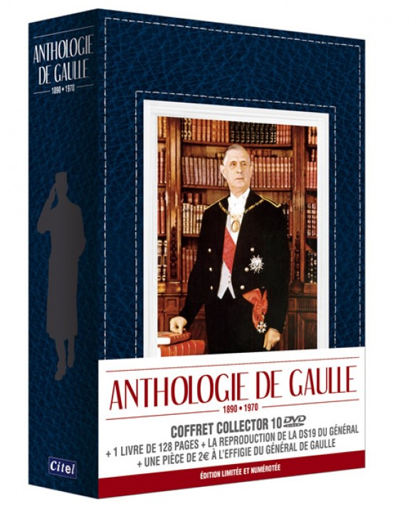 COFFRET ANTHOLOGIE GENERAL DE GAULLE