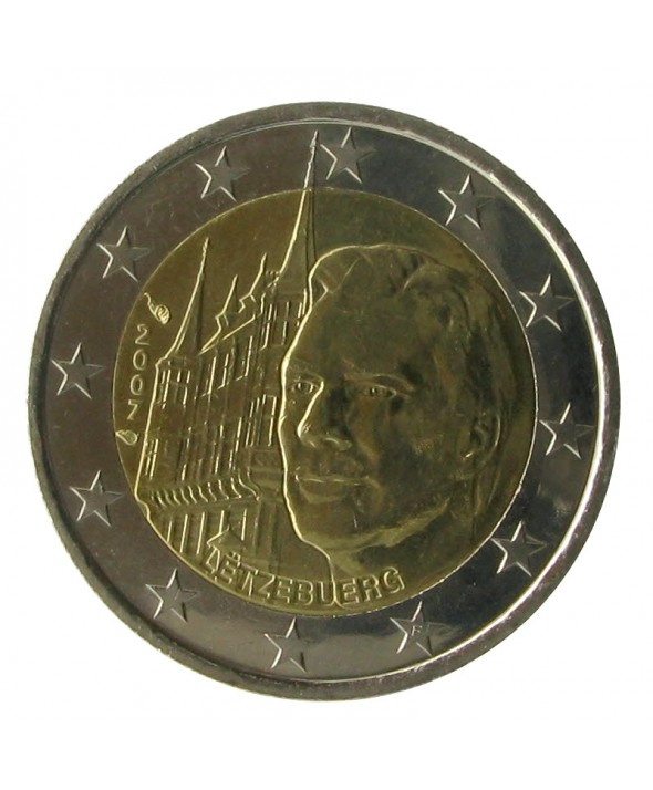 2 Euros Commémo. LUXEMBOURG 2007 - Palais grand-ducal