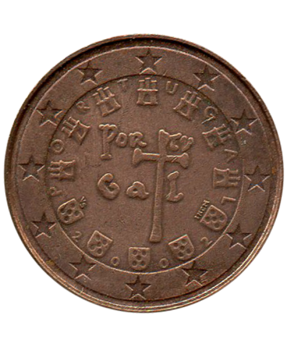 1 centime d'euro - Portugal
