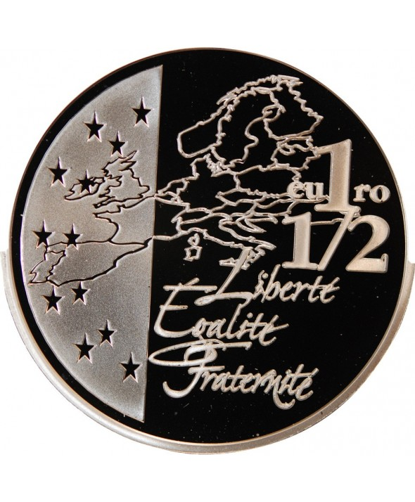 FRANCE, SEMEUSE - 1,5 EURO ARGENT 2003 BE