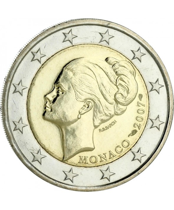 2 Euros Commémorative UNC - Princesse Grace - Monaco 2007