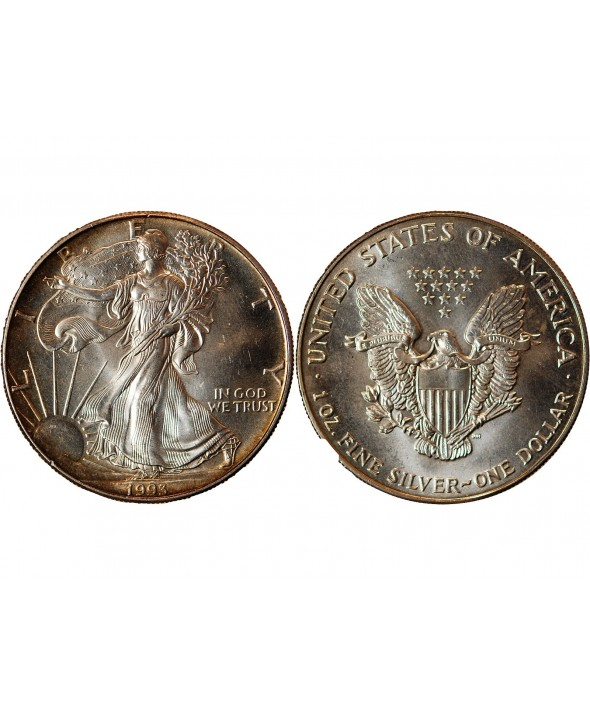 USA - ONCE LIBERTY ARGENT 1993
