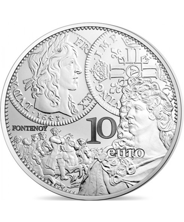 LE LOUIS D'OR - 10 Euros Argent BE 2017 FRANCE (MDP)