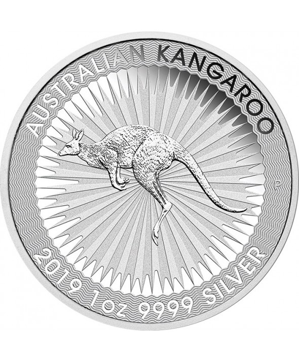 1 Once argent AUSTRALIE 2019 - Kangourou