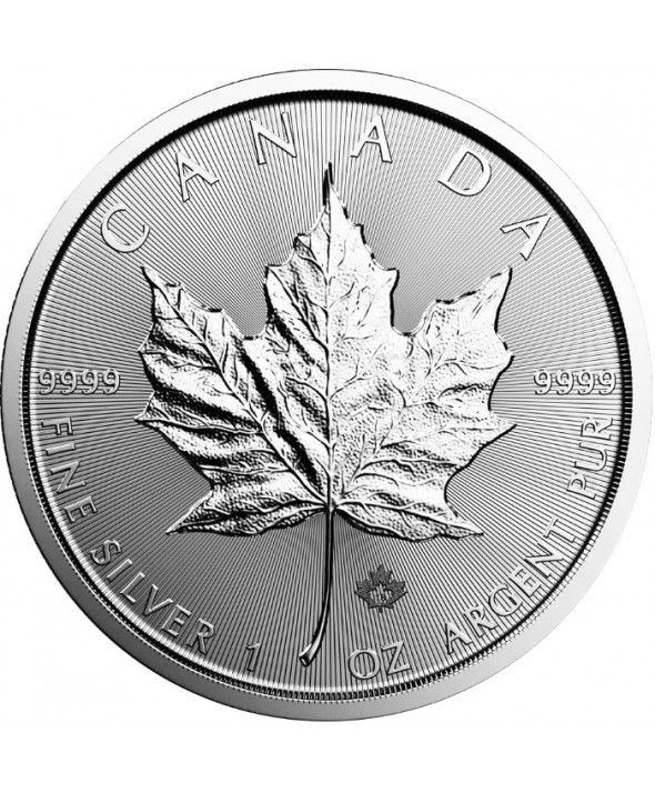 MAPLE LEAF - 1 Once Argent CANADA 2019