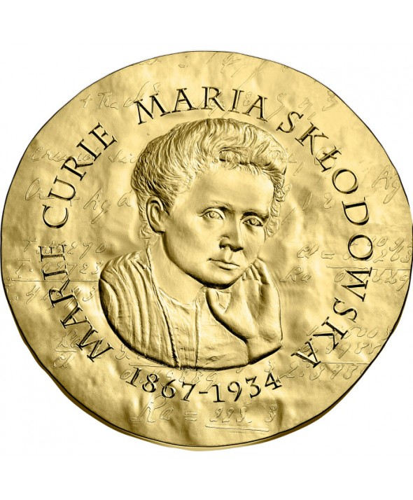 Marie Curie - 50 Euros Or BE 2019 FRANCE (MDP)
