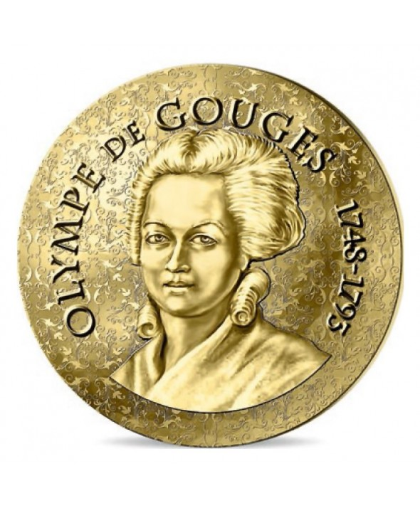 Olympe de Gouges - 50 Euros Or BE 2017 FRANCE (MDP)