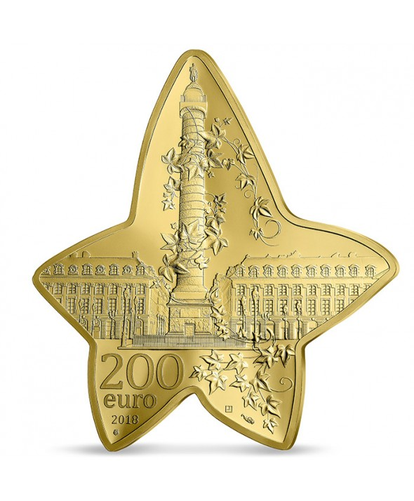 1 Oz, 200 Euros Or BE France 2018 - Boucheron, Excellence à la française (MDP)