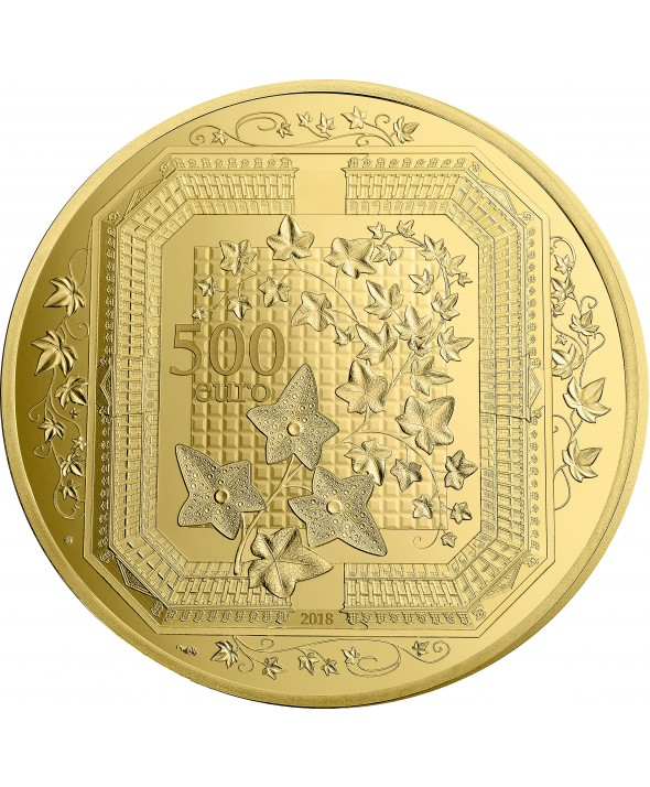 5 Oz, 500 Euros Or BE France 2018 - Boucheron, Excellence à la française (MDP)